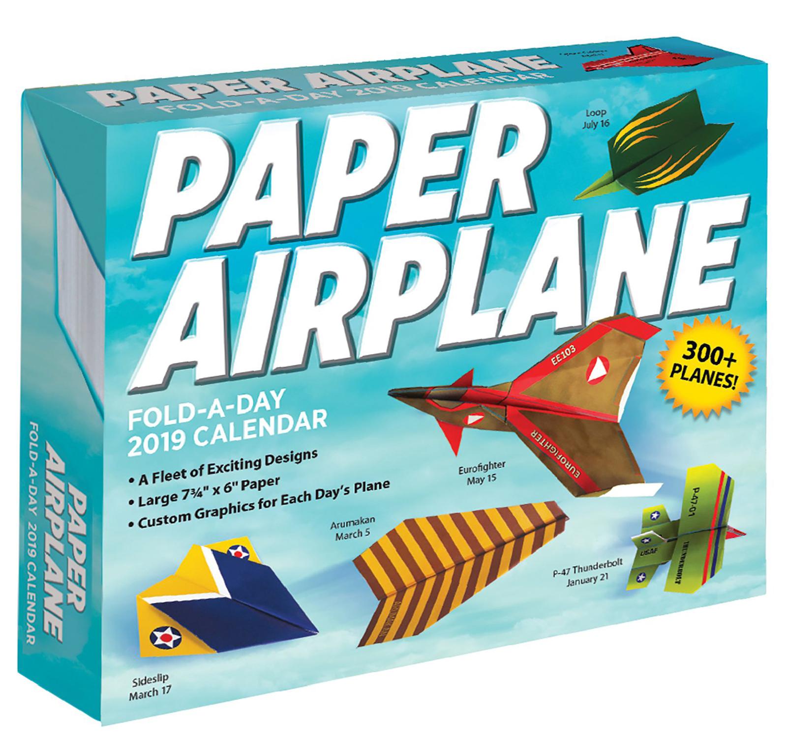 Paper Airplane Printable Templates | Calendar Image 2019