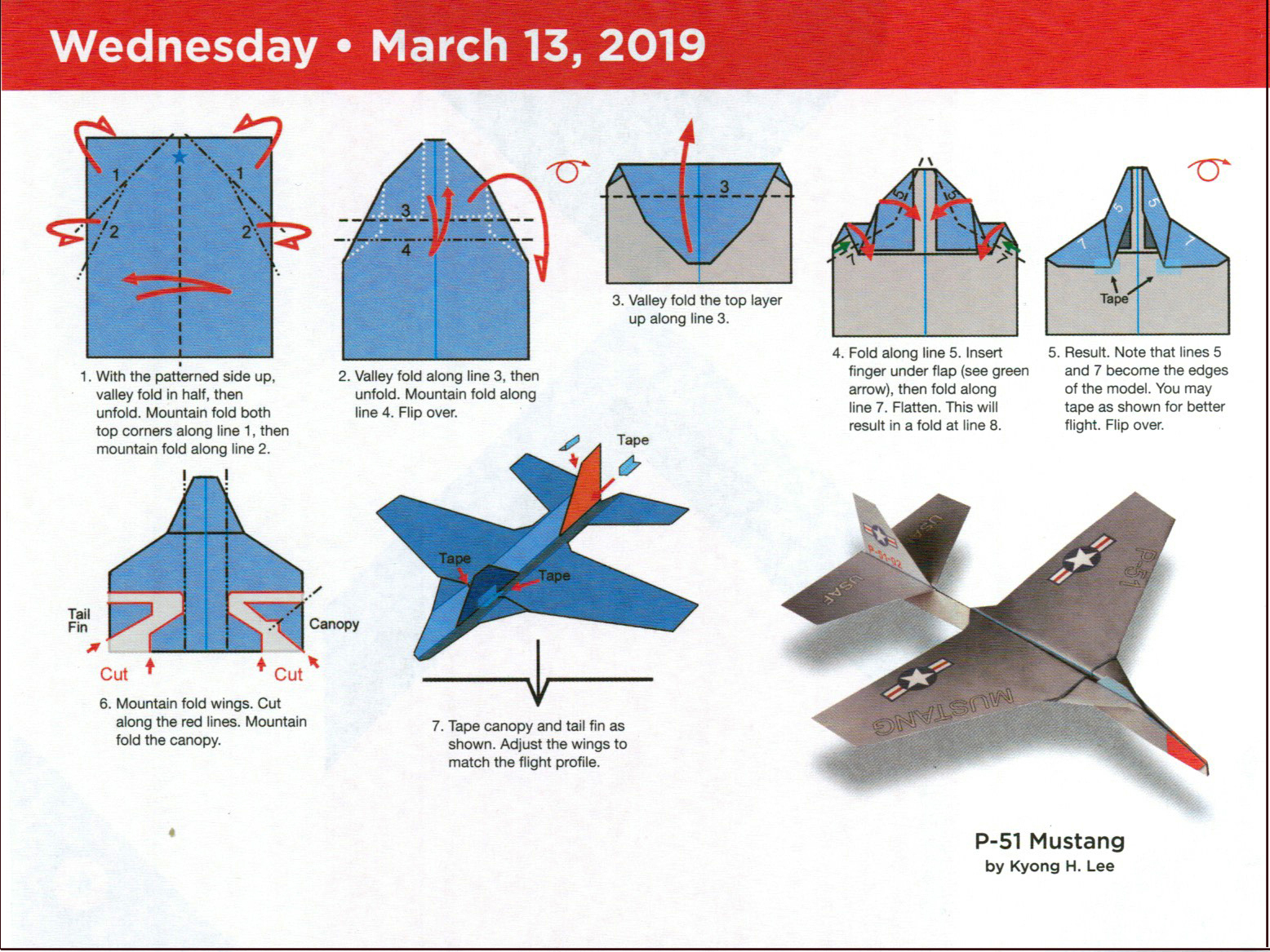 National Paper Airplane Day 2019 | Free Printable 2019 ...