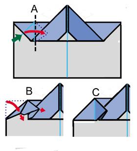 Origami Pesawat Terbang Jauh - All About Craft | 308x280