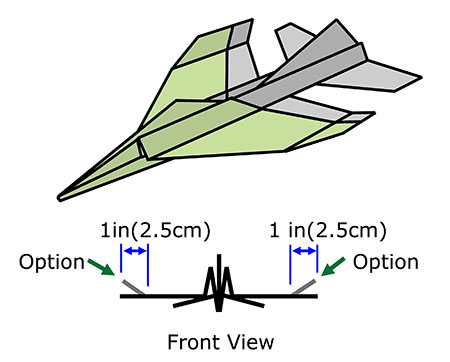 F 4 Phantom Jet Paper Airplane Folding Instructions