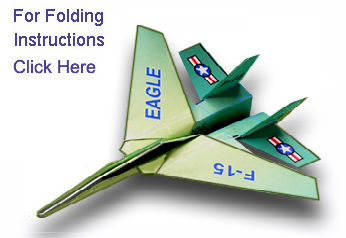 Fighter Jet Paper Airplanes